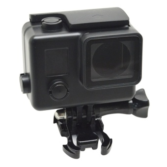 2017 New for GoPro Hero 4 / 3+ Camera Waterproof Case 35MUnderwater Diving Cover Gopro 4 / 3+ GP101B - Black - intl