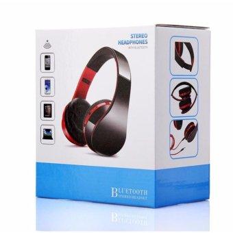 2017 new head wearing Bluetooth headset foldable wireless stereomini sport earphone - intl - 5