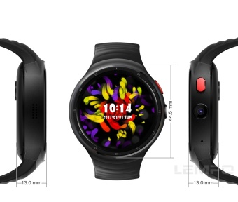 """2017 NEW! LEMFO LES1 Bluetooth Smart Watch MTK6580 1.39"""" OLED Round Support SIM Card For Android IOS Phone (Earphone) - intl - 5"""