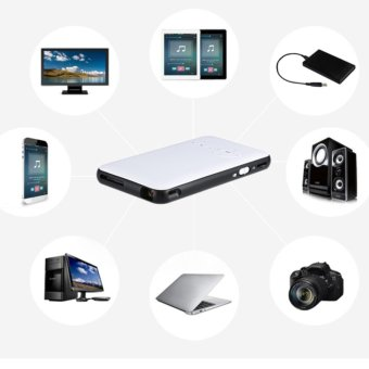 "2017 NEW WEJOY DL-S6+ Mobile Pico Projector WIFI DLP Portable MiniPocket Size Multimedia Video LED Gaming Projectors with 120""Display - intl Price Philippines"