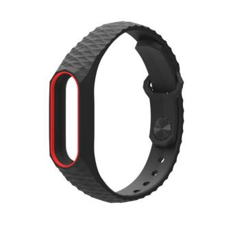 2017 Newest Silicon Wrist Strap WristBand Bracelet Replacement Xiaomi MI Band 2