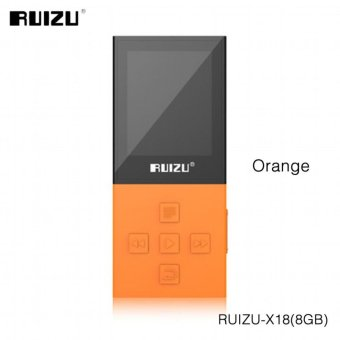2017 Original RUIZU X18 8G Bluetooth Sport MP3 Player LosslessRecorder FM Radio Bluetooth 4.0 Music Player Support 64G TF Card -intl - 2