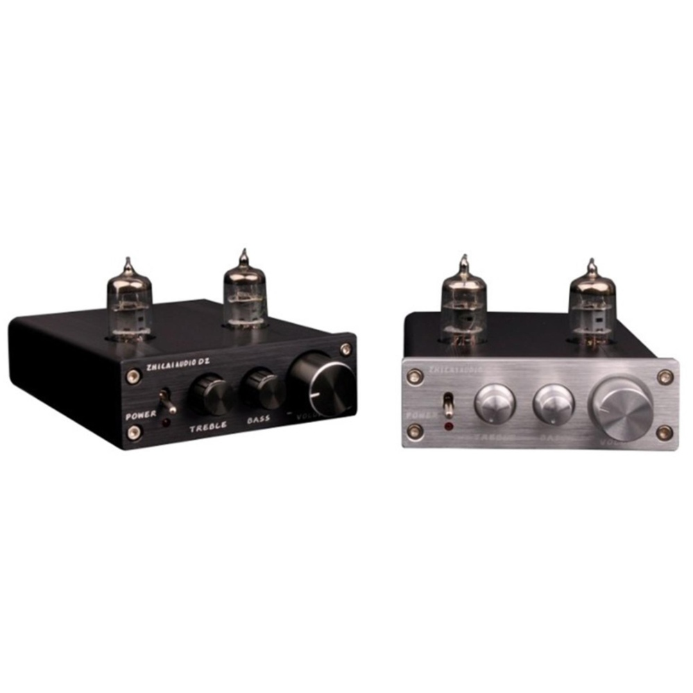 Philippines 2017 Zhilai D2 Hifi Tube Preamp 6j1 Valve Audio Preamplifier Dual Channel Treble Bass With Power