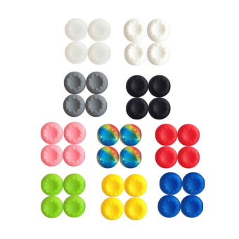 20x Silicone Joystick Thumb Stick Grips Cap Case for PS3 PS4 Xbox One/360 Random - intl