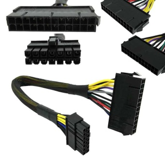 24 Pin to 14 Pin PSU Main Power Supply ATX Adapter Cable for Lenovo IBM Dell - intl