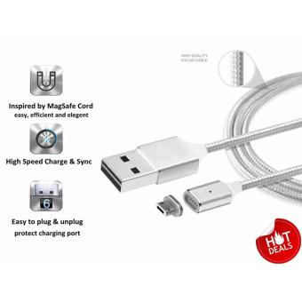2.4A Premium Magnetic Cable Nylon Micro USB fast Charger (Android) Price Philippines