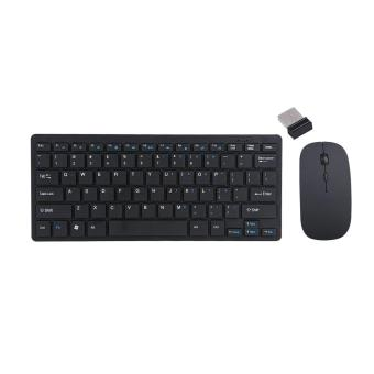 2.4G Wireless Keyboard And Mouse Kit Keypad Ultra-Slim For AndroidIOS PC Apple Laptop - intl