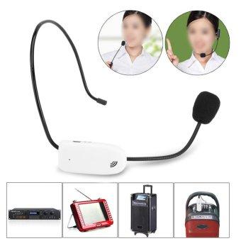 2.4G Wireless Microphone Megaphone Headset Radio Mic For SpeechTeaching Tour Guide - intl - 2