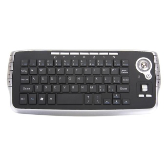 2.4Ghz Wireless Mini Wireless Keyboard With Track Ball For AndroidWindows Mac - intl