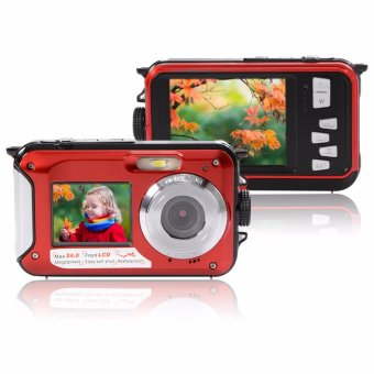 24MP Waterproof Digital Video Camera 16x Camcorder Underwater 3MDiving - intl