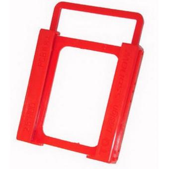 2.5 to 3.5 HDD Mounting Bracket Holder Plastic Red