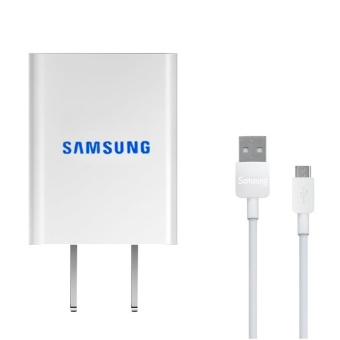 2A Travel / Home Mini Quick Charger For Samsung Galaxy S3 / S4 / J1/ J7 / J5 / A8 / A7 / A5 / A3 / E7 Whit USB Cable