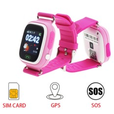 2Cool Touch Screen Kids Watch WiFi GPS Position Phone Call Kids Smart Watch for Girls -
