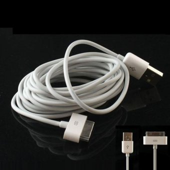 2M 6FT USB Date Sync Charger Cable Cord For iphone 4 4S 3G 3GS ipad- intl