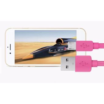 2M Long Android USB Fast Charger & Data Cable Mobile Phone USBCharger Cable For Samsung HTC Huawei - 3