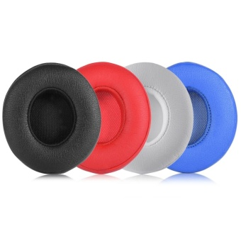 2Pcs Earpads Ear Pad Cushion Replacement for BEATS SOLO2.0 Wireless Headphone (Red) - intl - 4