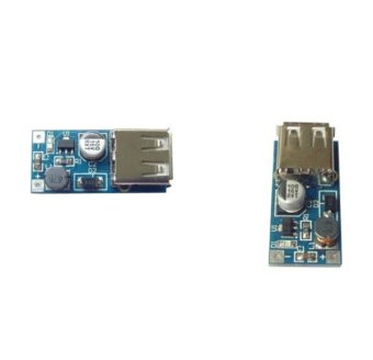 2Pcs Mini DC-DC USB 0.9V-5V to 5V Boost Step-up Power Supply ModulePFM Control