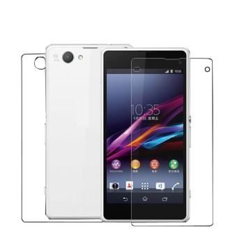 3 Front 3 Back Clear Screen Protector Film For Sony Xperia Z1Compact Clear Price Philippines