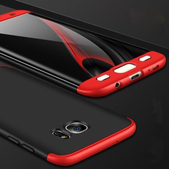 3 In 1 Combo Frosted Armor Hard PC Back Cover 360 Degree Full BodyShockproof Protective Phone Case for Samsung S7 edge - intl