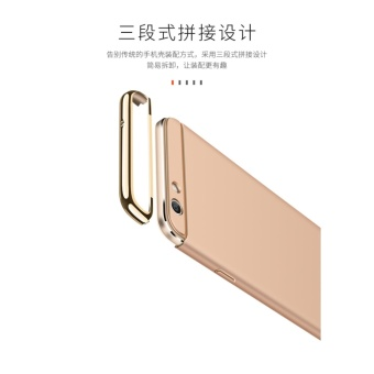 3 In 1 Fashion Ultra Thin Matte Hard Case for For OPPO F1S(rose gold) - intl - 5