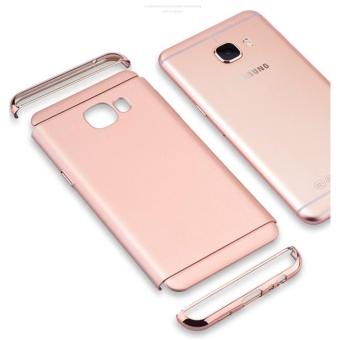 3 In 1 Fashion Ultra Thin Matte Hard Case for For Samsung Galaxy A52016(rose gold) - intl - 3