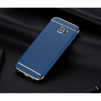 3 In 1 Fashion Ultra Thin Matte Hard Case for For Samsung GalaxyS6(Blue ) - intl