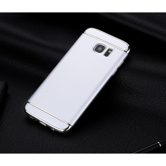 3 In 1 Fashion Ultra Thin Matte Hard Case for For Samsung GalaxyS6(Silver) - intl