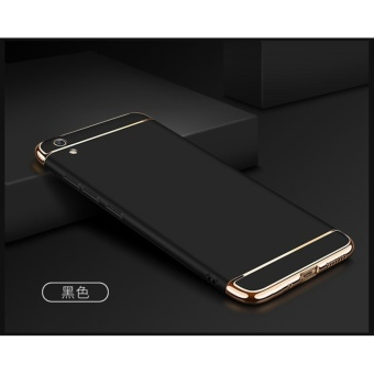 3 In 1 Fashion Ultra Thin Matte Hard Case for For VIVO Y51(black) -intl
