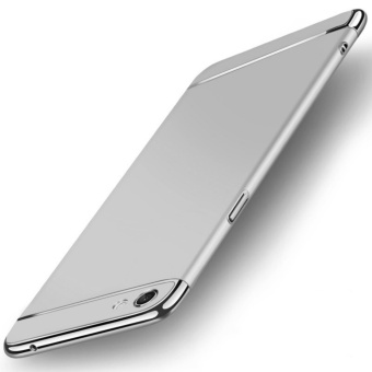 3 in 1 Ultra thin PC hard cover case phone case for Oppo F3 Plus(Silver) - intl