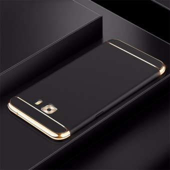 3 in 1 Ultra thin PC hard phone cover case for Samsung Galaxy C9/C9Pro(Black) - intl