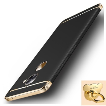 3 in 1 Ultra thin PC with Bear ring hard cover case phone case for Letv Le 2/2S(Black) - intl