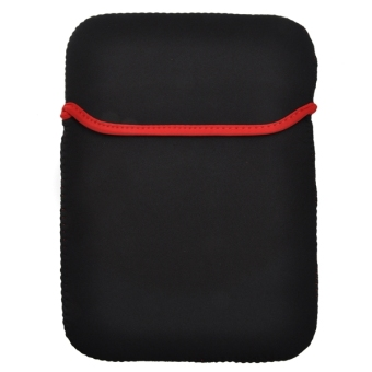 3-in-1 Universal Soft Neoprene Sleeve Pouch Bag + Stylus Pen + Cloth Set for 9.7-inch Tablet PC (Black) - picture 2
