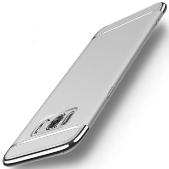 3 in 1plating Back cover case For Samsung Galaxy S8(Silver) - intl