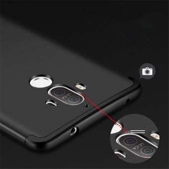 3 in1 Full Cover Case For Huawei Mate 9  Black - intl - 4