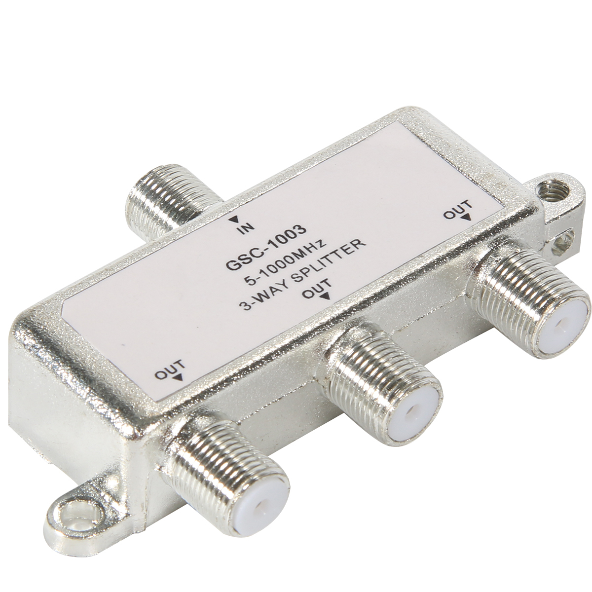 Philippines   3 Way Cable TV Splitter Switch BI127-SZ (Silver ...