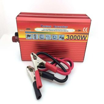 3000W Solar Car Power Inverter DC 12V to AC 220V Modified Sine WaveCharger - intl