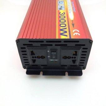 3000W Solar Car Power Inverter DC 12V to AC 220V Modified Sine WaveCharger - intl - 2
