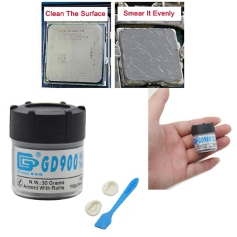 30g Gray GD900 Heat Sink Compound Thermal Grease Paste - intl