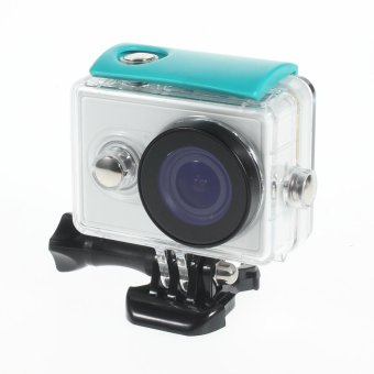 30M Waterproof Housing Case for Xiaomi Yi Action Camera - Blue -intl
