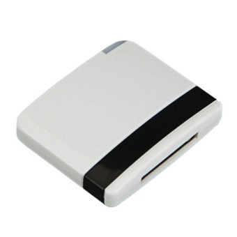 30Pin Dock Speaker Bluetooth Music Receiver Adapter For iPhone iPodBK - intl