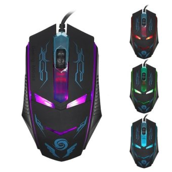 3200 DPI LED Optical USB Wired Gaming Mouse Mice For PC Laptop -intl