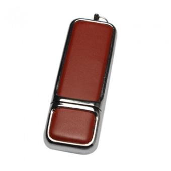 32GB Leather USB2.0 Flash Drive Memory Stick U Disk Thumb Storage Gift brown - picture 2