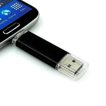 32GB OTG Micro USB 2.0 Flash Memory Drive Stick Pen Thumb U Disk (Black) - Intl - 3