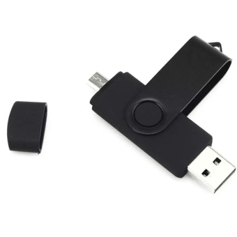 32GB U disk Multicolor micro usb Smart Phone USB Flash Drive(Black)