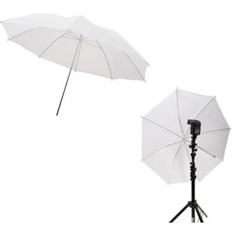 33in / 83cm Studio Flash Translucent White Soft Umbrella