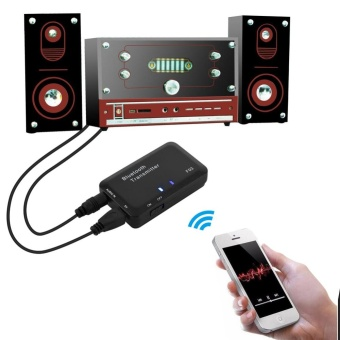 3.5mm Bluetooth 4.0 Transmitter Wireless Stereo Adapter for TV / PC/ MP3 - intl