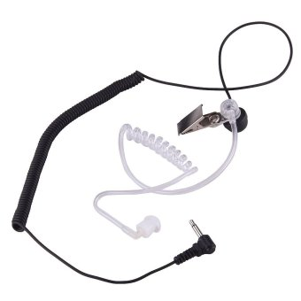 3.5mm Covert Acoustic Tube Earpiece 1 PIN for Motorola ICOM PR1500 HT1000 Radio