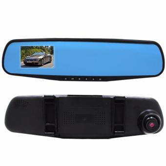 3.6 Rear-View Mirror Car Video Recorder (Black)