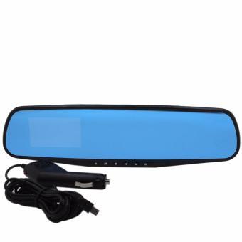 3.6 Rear-View Mirror Car Video Recorder (Black) - 4