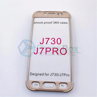 360 Case for Samsung Galaxy J7 Pro (gold)